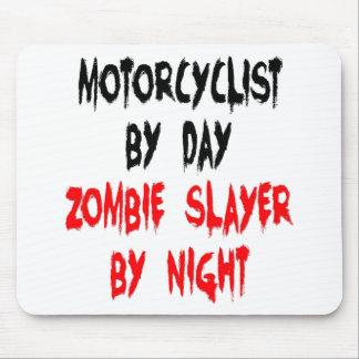 Motorista del asesino del zombi alfombrillas de ratones