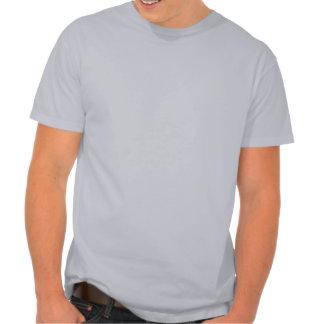Motorista del conejito camisetas