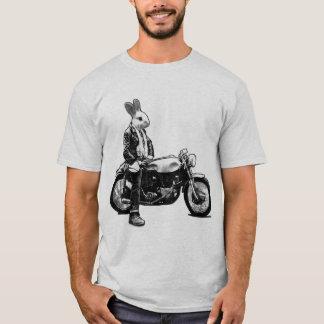 Motorista del conejito playera