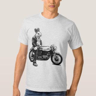 Motorista del conejito poleras