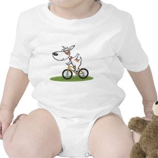 Motorista del perro trajes de bebé