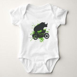 Motorista del rinoceronte camisas