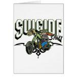 Motorista del suicidio felicitaciones