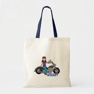 Motorista - medio bolsa tela barata