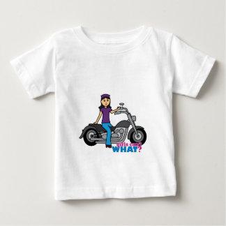 Motorista - medio playera de bebé