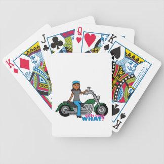 Motorista - oscuridad cartas de juego