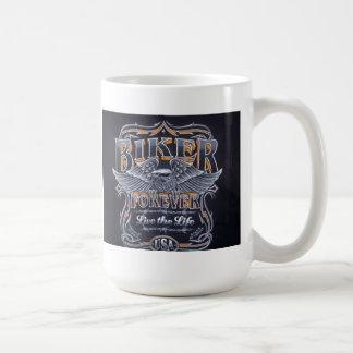 Motorista para siempre taza de café