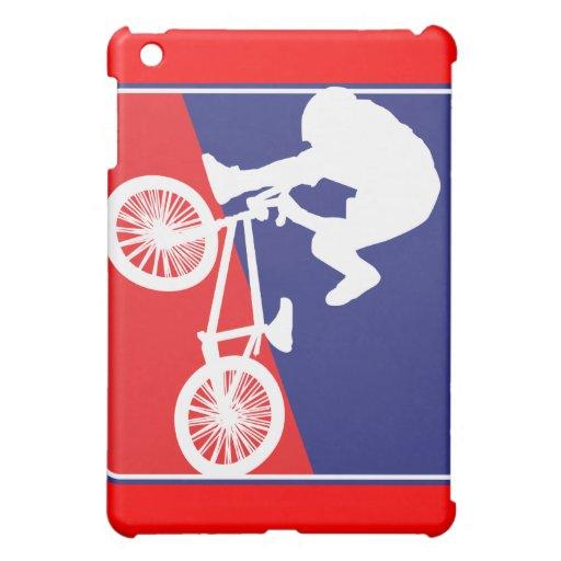 Motorista patriótico de BMX