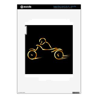 Motorista que muestra seguridad en carretera iPad 3 skin