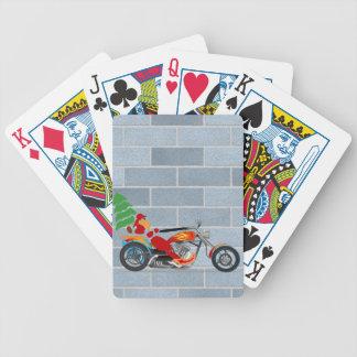 Motorista Santa Baraja Cartas De Poker