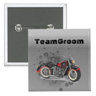 Motorista WeddingFavor de la motocicleta del