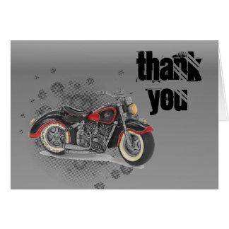 Motorista WeddingFavor de la motocicleta del Tarjeta Pequeña