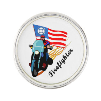 Motoristas del bombero pin