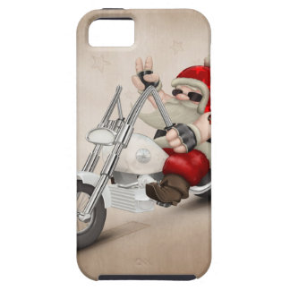 Motorized Santa Claus iPhone 5 Covers