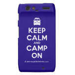 [Campervan] keep calm and camp on  Motorola Droid RAZR Cases