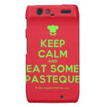 [Chef hat] keep calm and eat some pasteque  Motorola Droid RAZR Cases