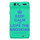 [Crown] keep calm and love the janoskians  Motorola Droid RAZR Cases