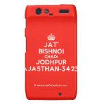 [Crown] jat' bishnoi chadi jodhpur rajasthan-342312  Motorola Droid RAZR Cases
