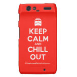 [Campervan] keep calm and chill out  Motorola Droid RAZR Cases