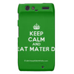 [Crown] keep calm and beat mater dei  Motorola Droid RAZR Cases