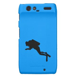 Motorola Droid RAZR - Scuba Diver