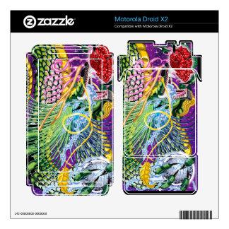 Motorola Droid X2 Dragon Of The Rose Vinyl Skins Motorola Droid X2 Decals