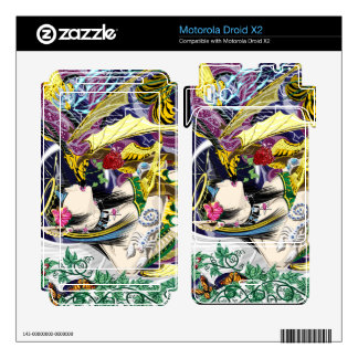 Motorola Droid X2 Kiss Of The Dragon Vinyl Skins Motorola Droid X2 Decal