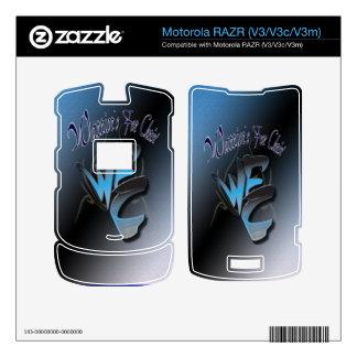 Motorola RAZR-Warriors for Christ Motorola RAZR Skins
