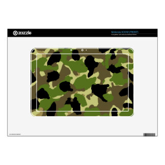 Motorola XOOM eReader Camouflage Custom Skin Motorola XOOM Skin