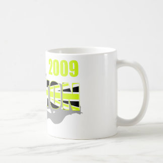 Motorsport 2009 Button t-shirts and f1 gifts Classic White Coffee Mug