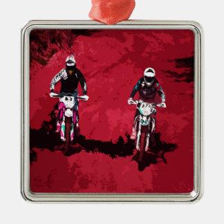 Motorsport Metal Ornament