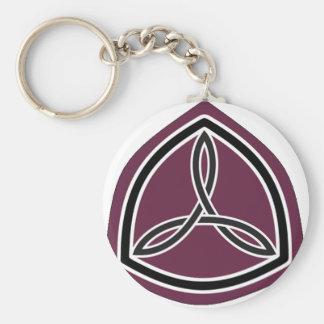 Motorsport Sisterhood Logo (Arced Crop) Keychain