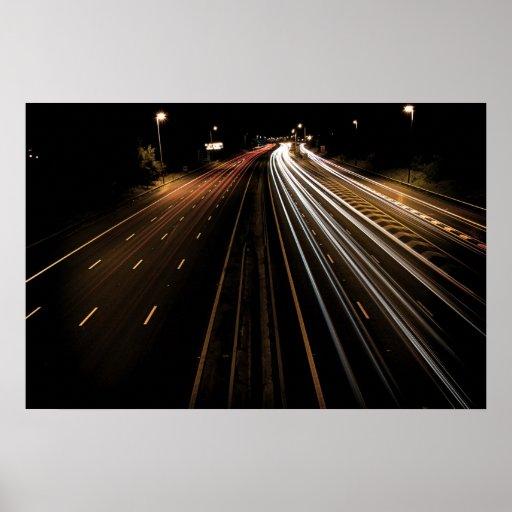 Motorway Life Stream Posters