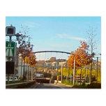 Motorway road tunnel postcards