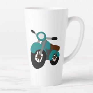 Motory Latte Mug
