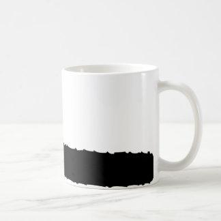 motosierra negra taza