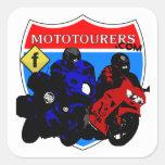 MotoTourers.com (FB) Square Stickers
