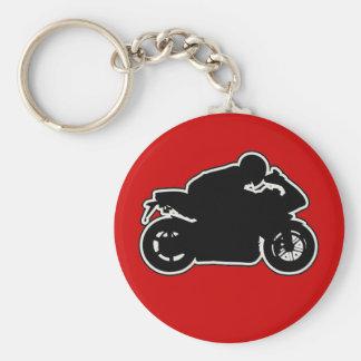 MotoVlog Keychain Red