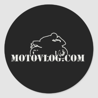 Motovlog Sticker