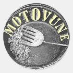 MOTOVUNE hash logo Stickers