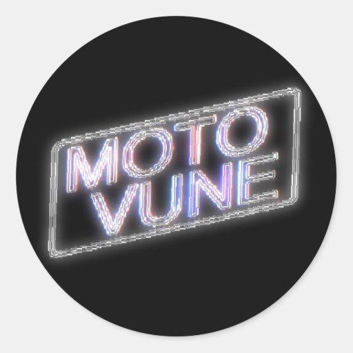 MOTOVUNE shiny Stickers