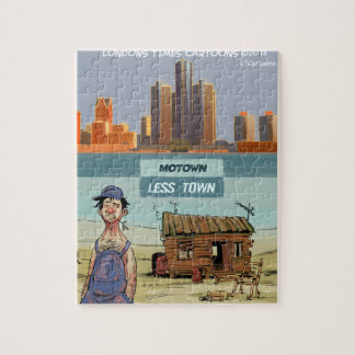 Motown LessTown Funny Jigsaw Puzzle