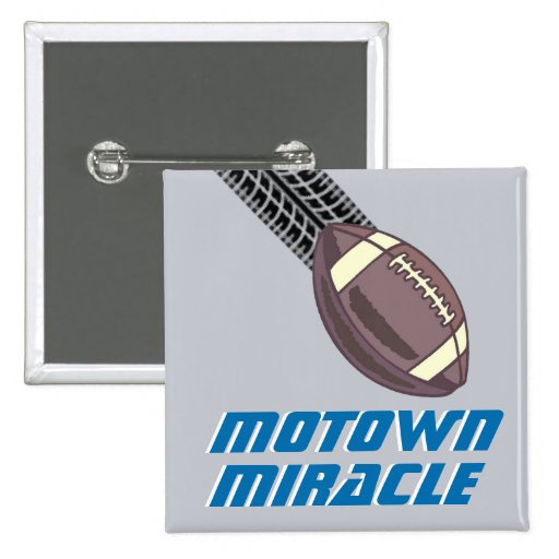 Motown Miracle Buttons