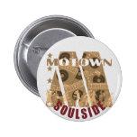 motown pin redondo 5 cm