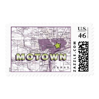 Motown Postage Stamp
