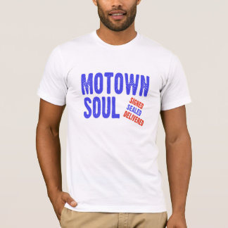 Motown Soul Music Style T-Shirt