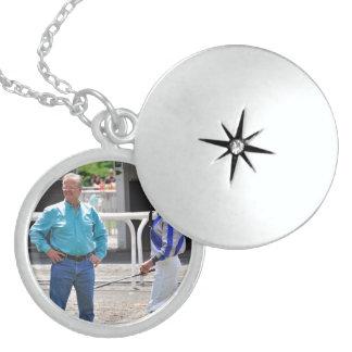 Mott and Lezcano Round Locket Necklace