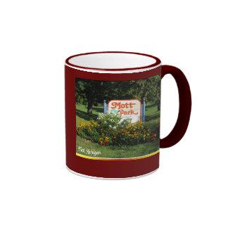 mott park - Flint Michigan Ringer Coffee Mug