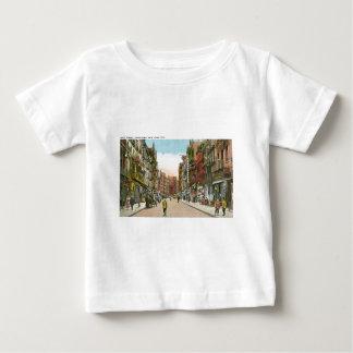 Mott Street, CHINATOWN, New York City (Vintage) Baby T-Shirt