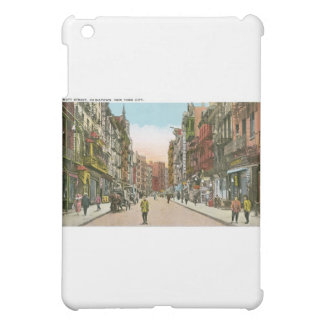 Mott Street, CHINATOWN, New York City (Vintage) iPad Mini Cover